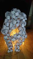 Lamp De Denker Constructiekokers Vouwstenen