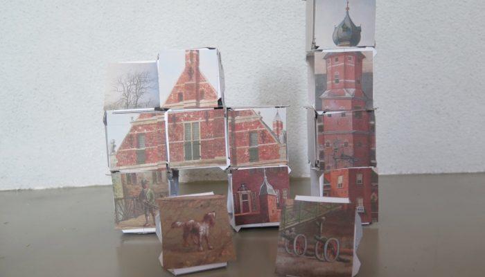 Activiteiten met Vouwstenen in het Groninger Museum.